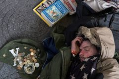 آواره کردن بیخانمانهای انگلیس