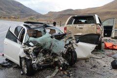 تصادف در جاده سفید دشت